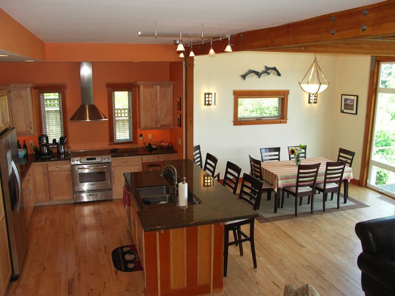 compact style dining room and kitchen 2451 house