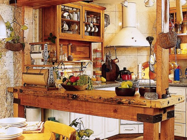 Beautiful Country Kitchen Design (View 5 of 10)