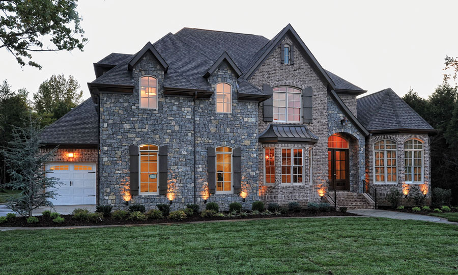 Beautiful brick house exterior 1332 exterior ideas Black brick homes