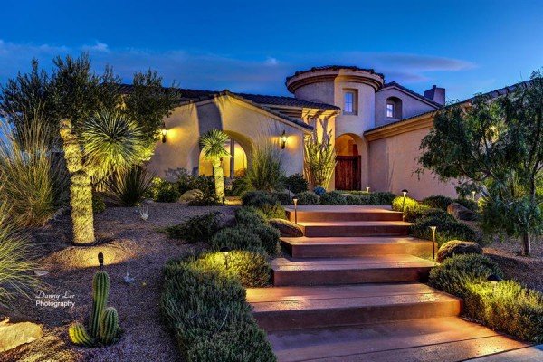 Beautiful Exterior of Spanish Home Style
