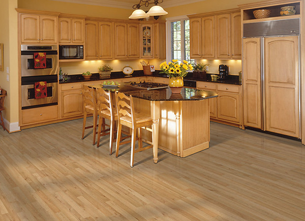 Beautiful Flooring Kitchen With Hardwood (Image 2 of 10)