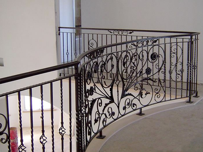 Beautiful Iron Hand Rails (Image 1 of 10)