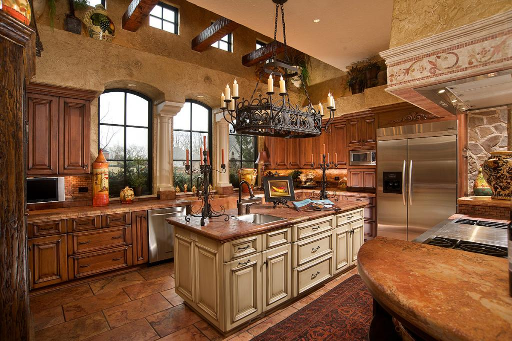 Custom Country Kitchen Style