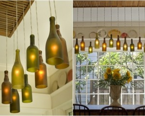 Beautiful Unused Bottle for Light Up Dining Room