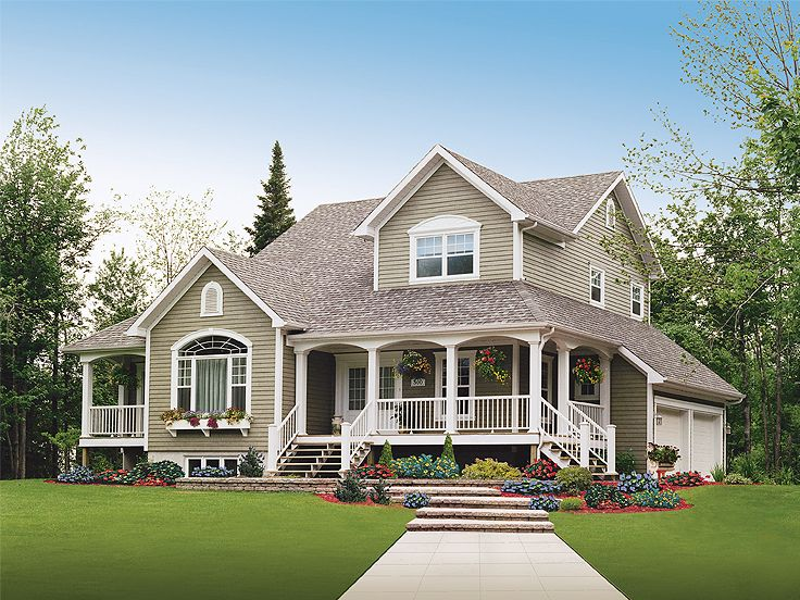 Beautiful Country House Plans (Image 1 of 20)