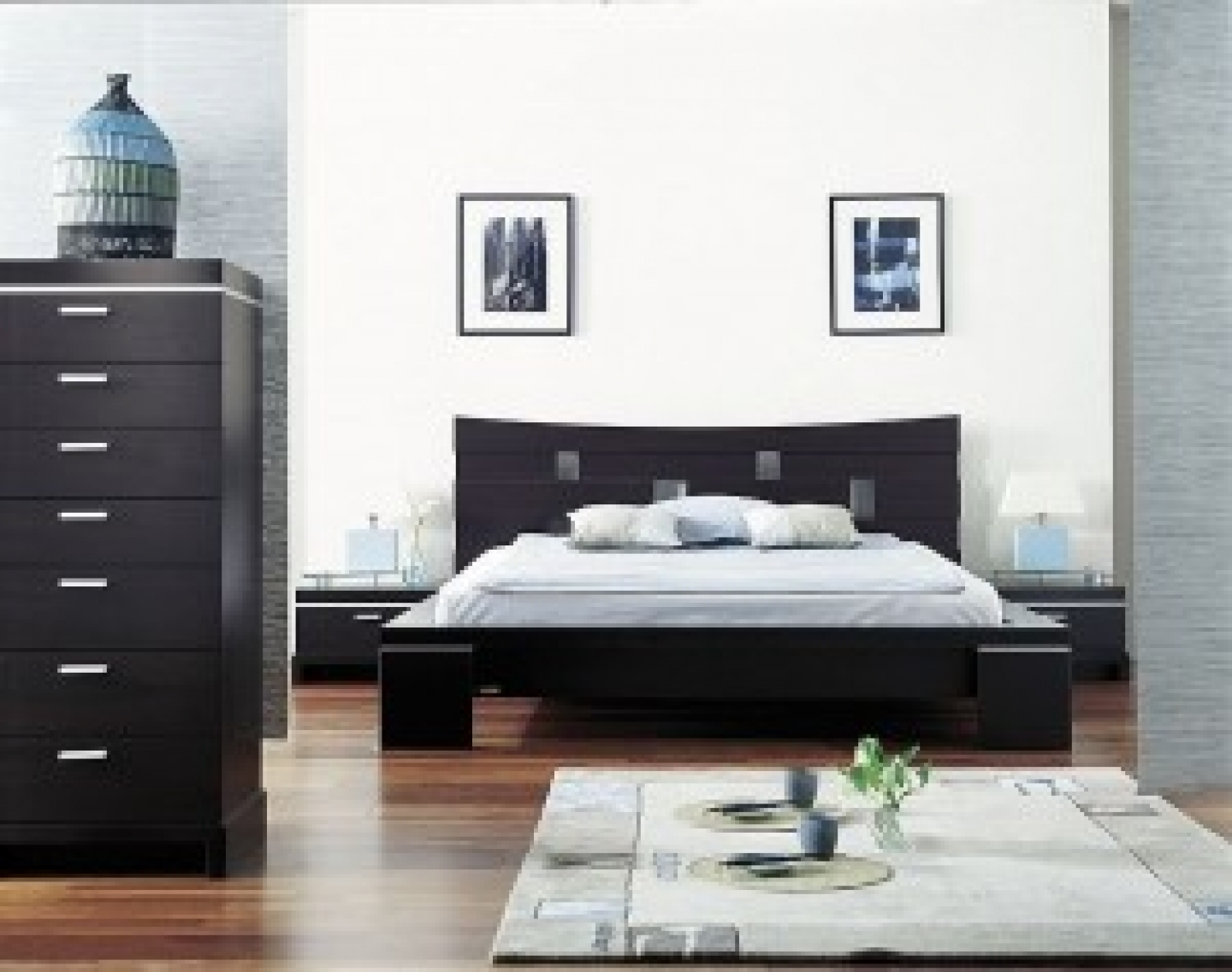 Black Furniture Decorating Ideas (Image 2 of 10)