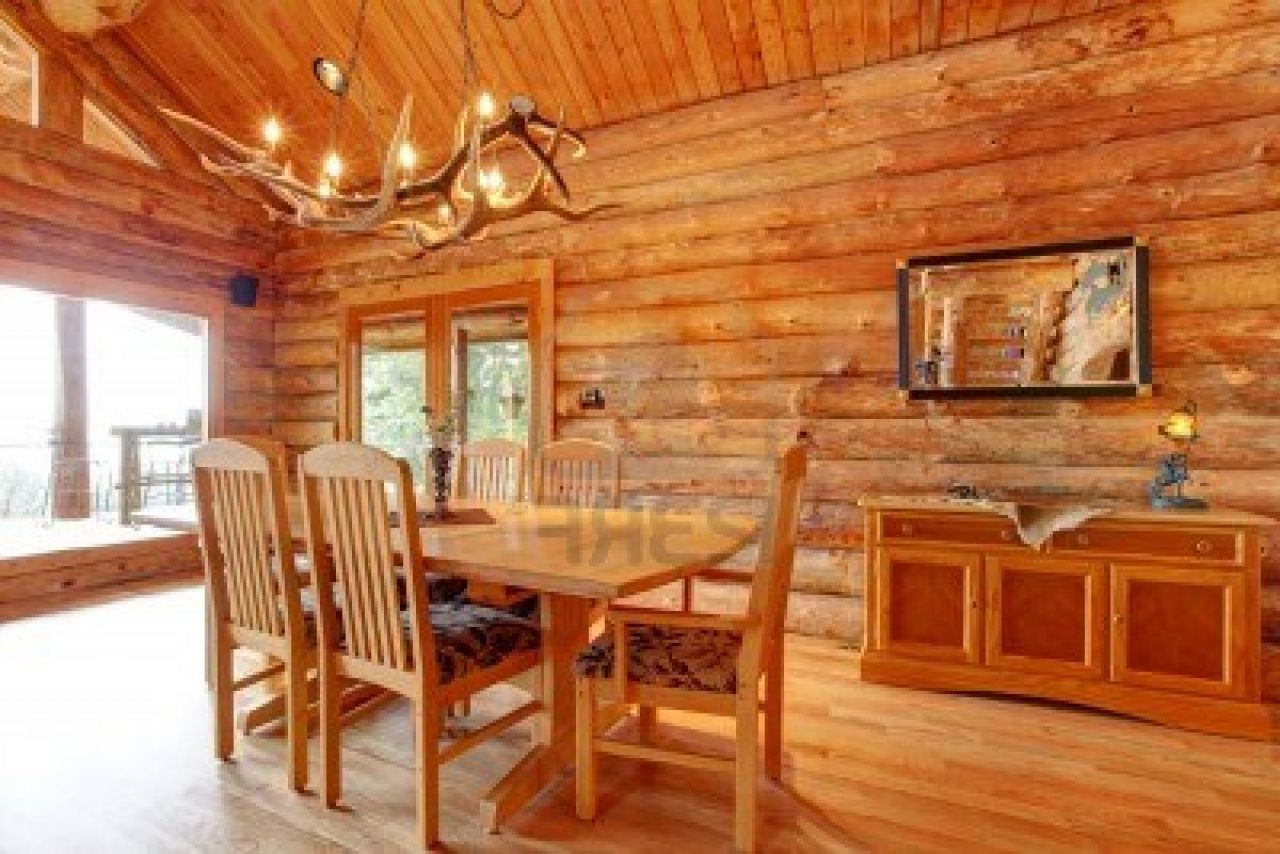 Cabin Dining Room Decoration (Photo 6 of 10)