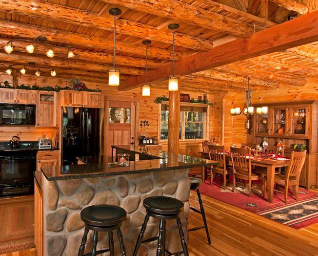 Cabin Interior Design Ideas (Image 7 of 10)