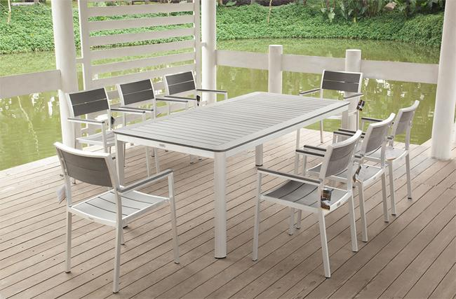 Cast Aluminum Patio Furniture (Image 7 of 14)