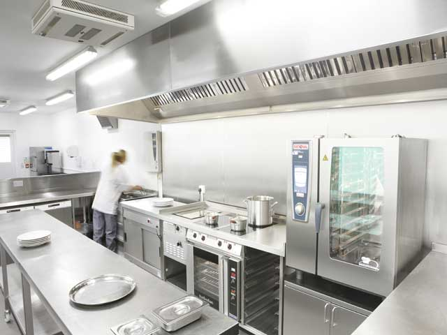 Catering Equipment At Commercial Kitchen For Your Home (Photo 10 of 10)