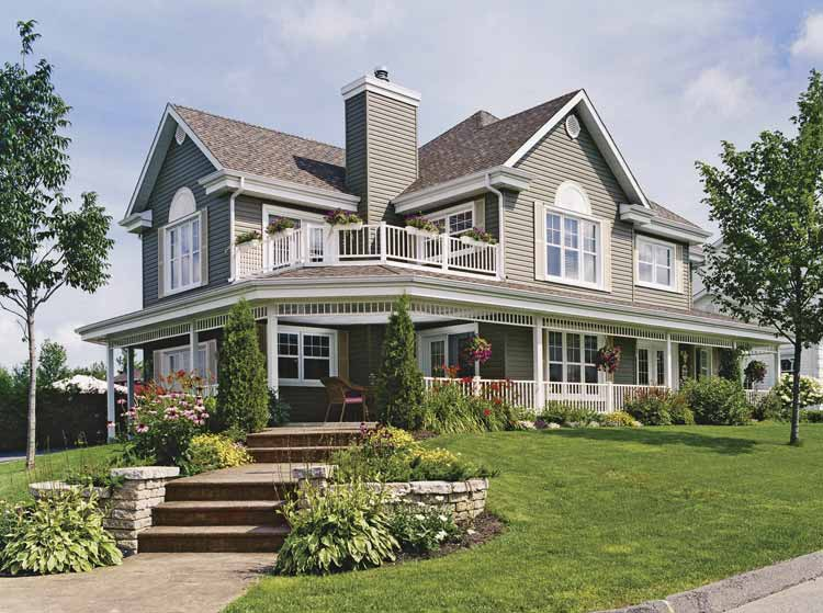 Classic Country House Design (Image 6 of 20)