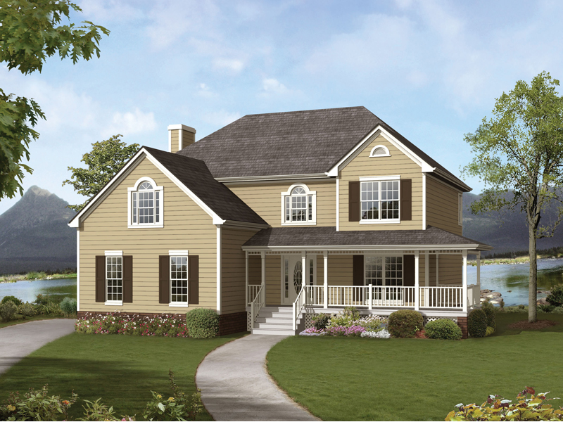 classic farmhouse design - Classic Farmhouse Plans