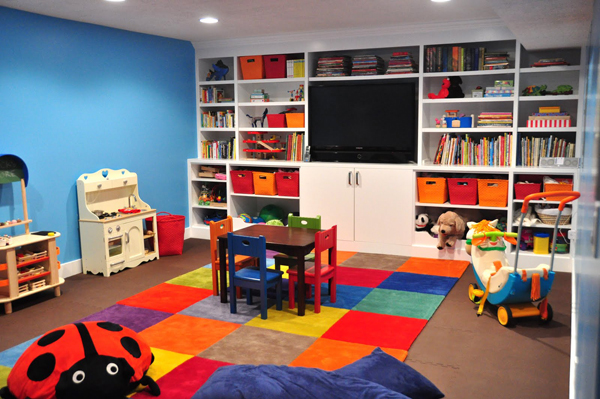 Colorful Kids Playroom Design Ideas (View 2 of 10)