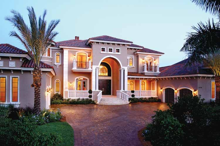 Contemporary Florida Style Home Design Plan #1810 | Exterior Ideas