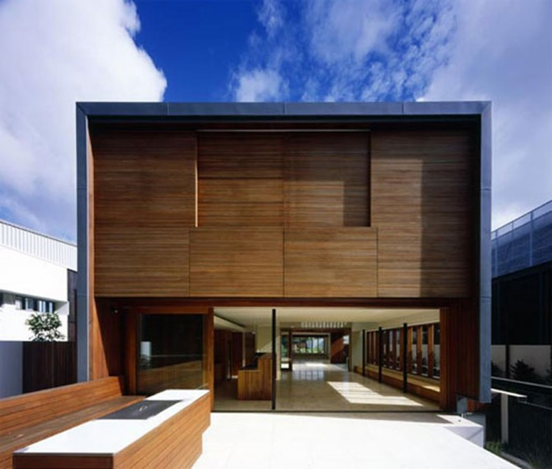 Contemporary Mesmerizing Modern Wooden House Architecture (View 4 of 8)