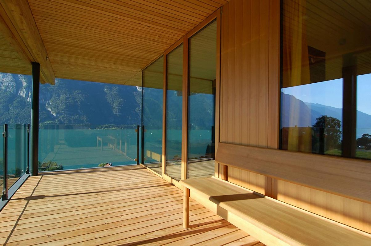 Contemporary Modern Wooden House Architecture (Image 3 of 8)