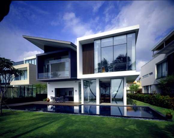 Contemporary House Exterior Design 2597 House