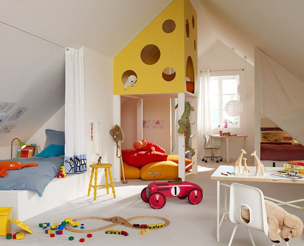 Featured Image of Kids Play Room On The Attic