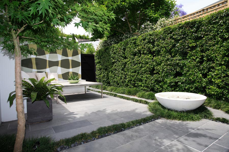 Courtyard Garden Design (Image 4 of 10)