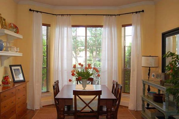 Curtain Ideas For Large Windows White Granite Top Table (Image 4 of 10)