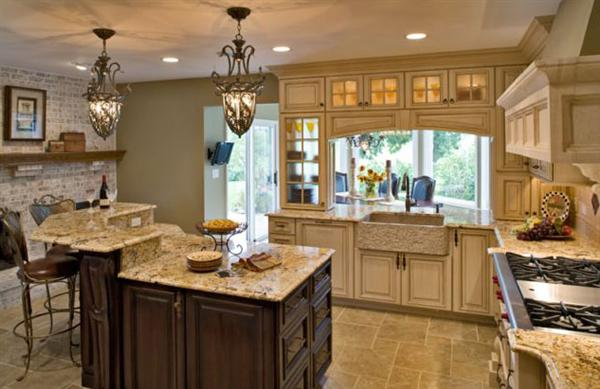 Custom Country Kitchen kitchen remodel: beautiful country kitchen design ideas #2005