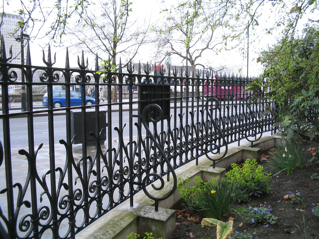 Custom Wrought Iron Fencing (Image 5 of 10)