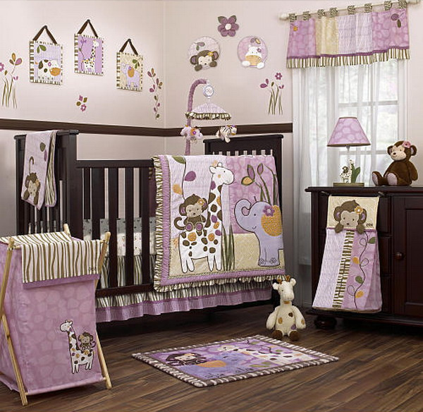 Cute Baby Girly Nursely Room (Image 2 of 10)
