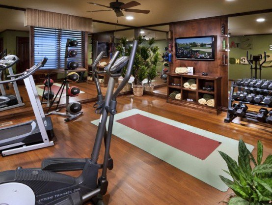 Decoration For Gym Room (Image 5 of 10)