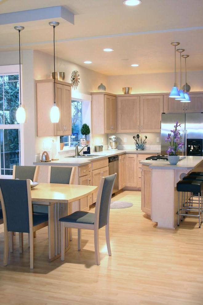Dining And Kitchen Chandelier Lighting (View 6 of 10)