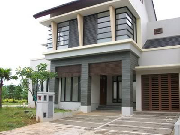 Elegant Contemporary House Exterior Design (Image 4 of 10)