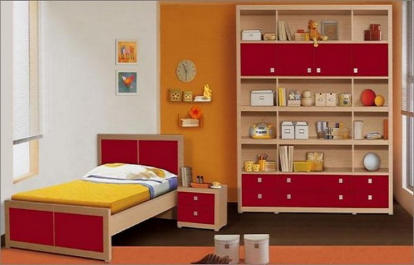 Elegant Kids Bedroom With Simple Furniture (View 5 of 10)