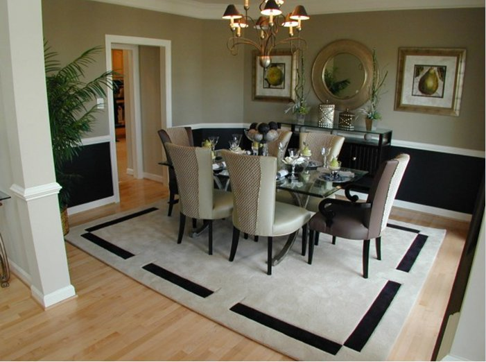 contemporary dining room wall decor. Elegant Small Dining Room Ideas (Image 4 Of 10) Contemporary Wall Decor