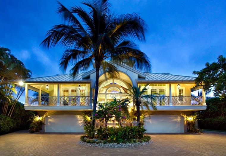 contemporary florida style home design plan 1810 house
