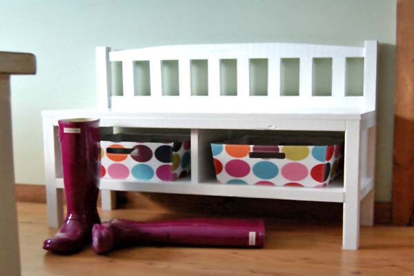 Entryway Bench Shoe Storage (Image 5 of 10)