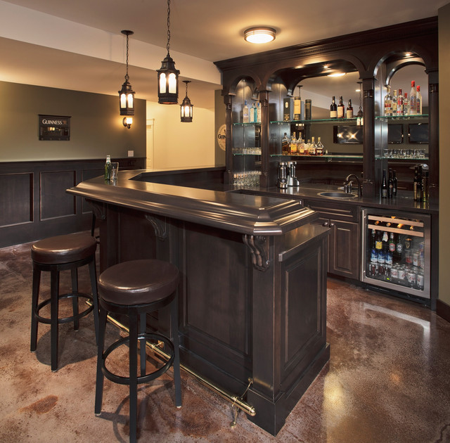 Essential Home Bar Decoration (Image 7 of 10)
