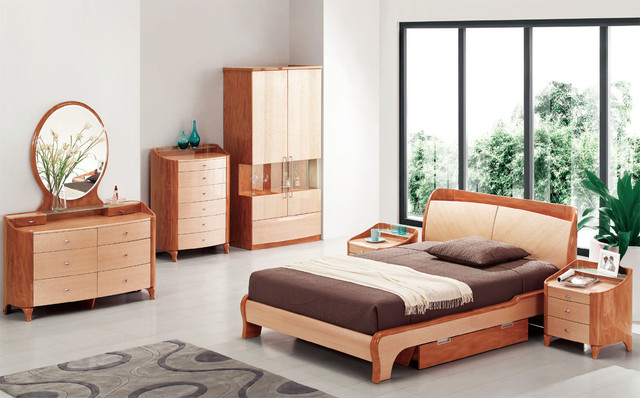Exotic Wood Modern High End Furniture (Image 5 of 10)