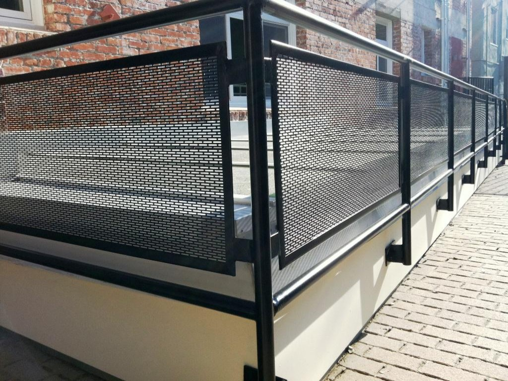 Exterior Metal Stair Railings (Image 7 of 10)