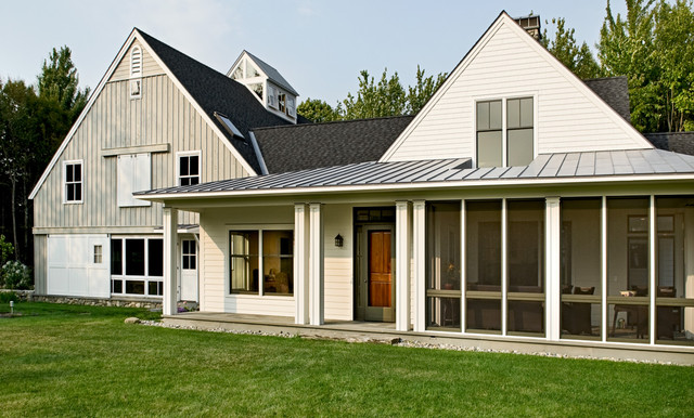 Farmhouse Exterior Photos (Image 6 of 10)