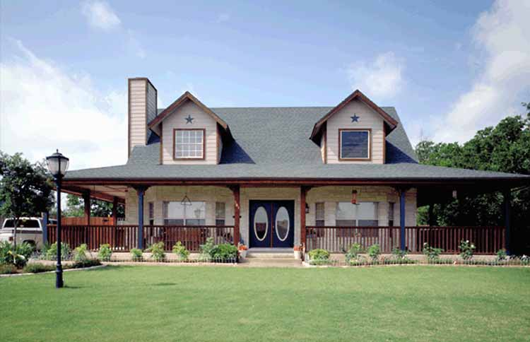 Classic farmhouse home plans 1733 exterior ideas for Farmhouse plan with wrap around porch