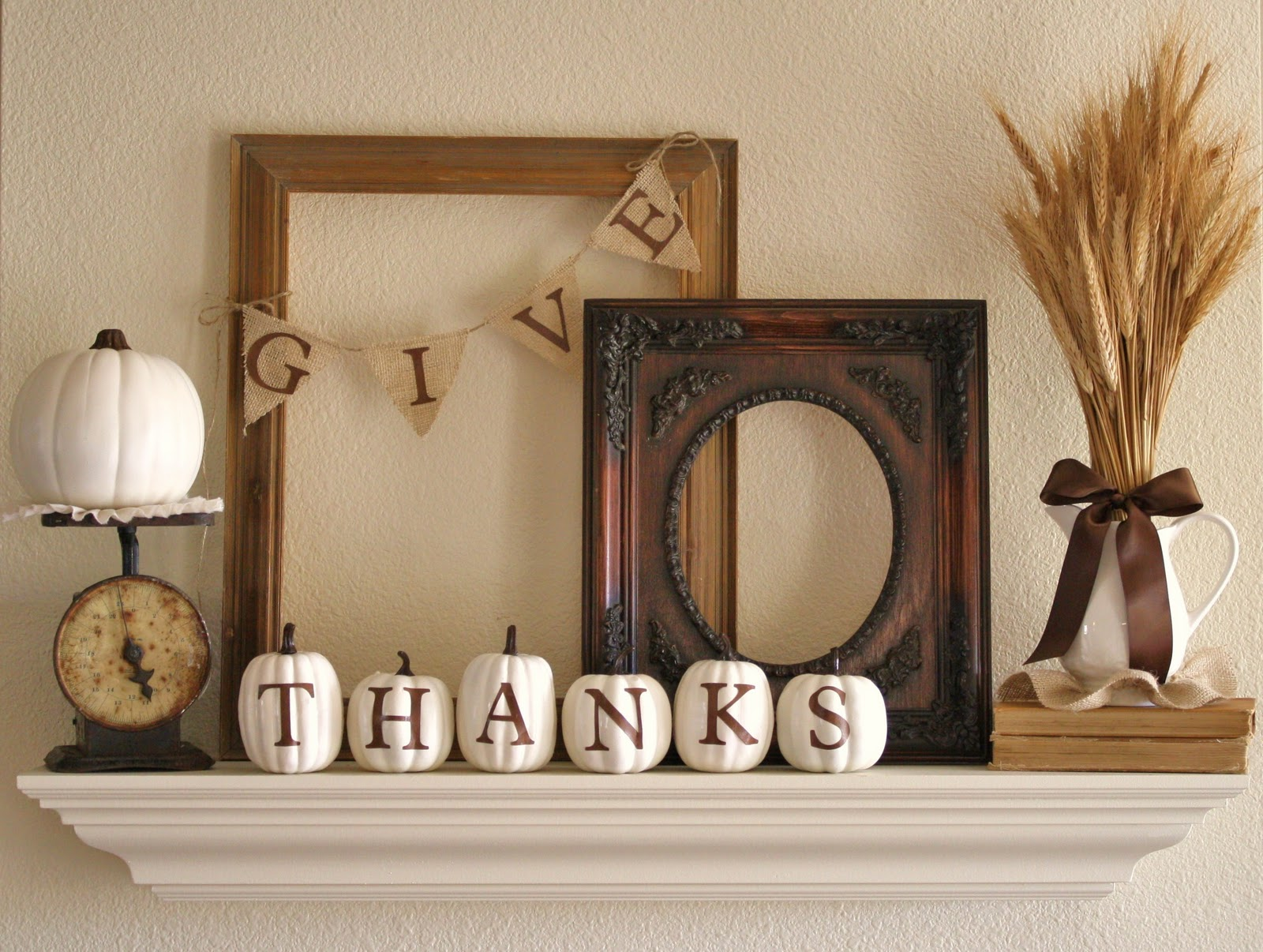 Fascinating Minimalist Creative And Easy DIY Thanksgiving Home Decor (Image 2 of 10)