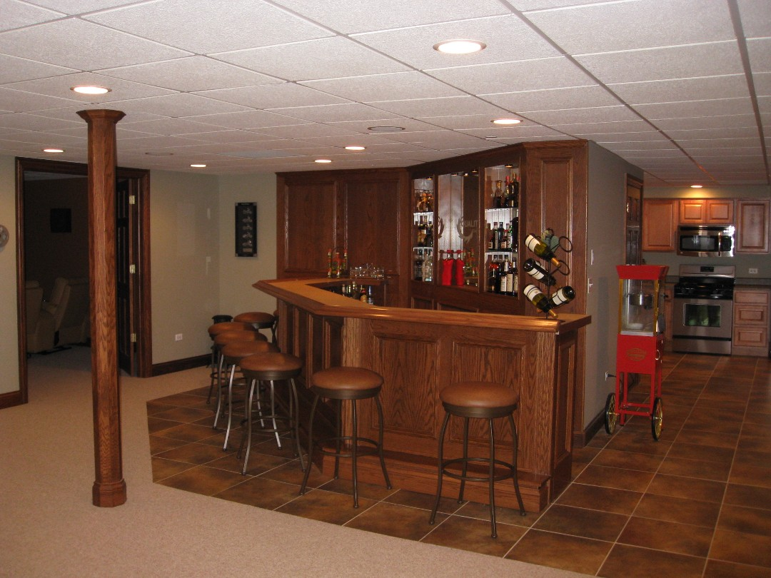 Setting Up A Basement Bar 2405 House Decoration Ideas