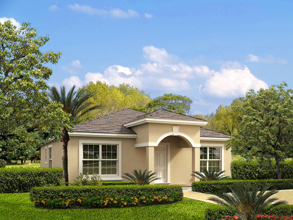 Small florida home plans home design and style for Florida cottage plans