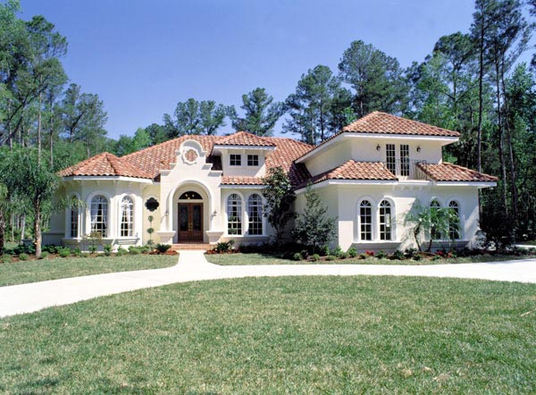 Florida Mediterranean House Plans (Image 4 of 10)