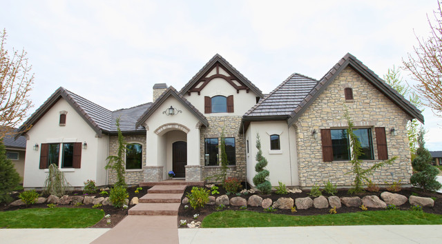 French Country Exterior Home Design (Image 10 of 23)