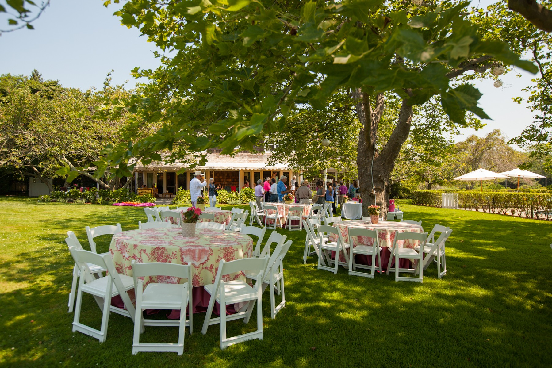 Garden Party Wedding Receptions (Image 3 of 10)