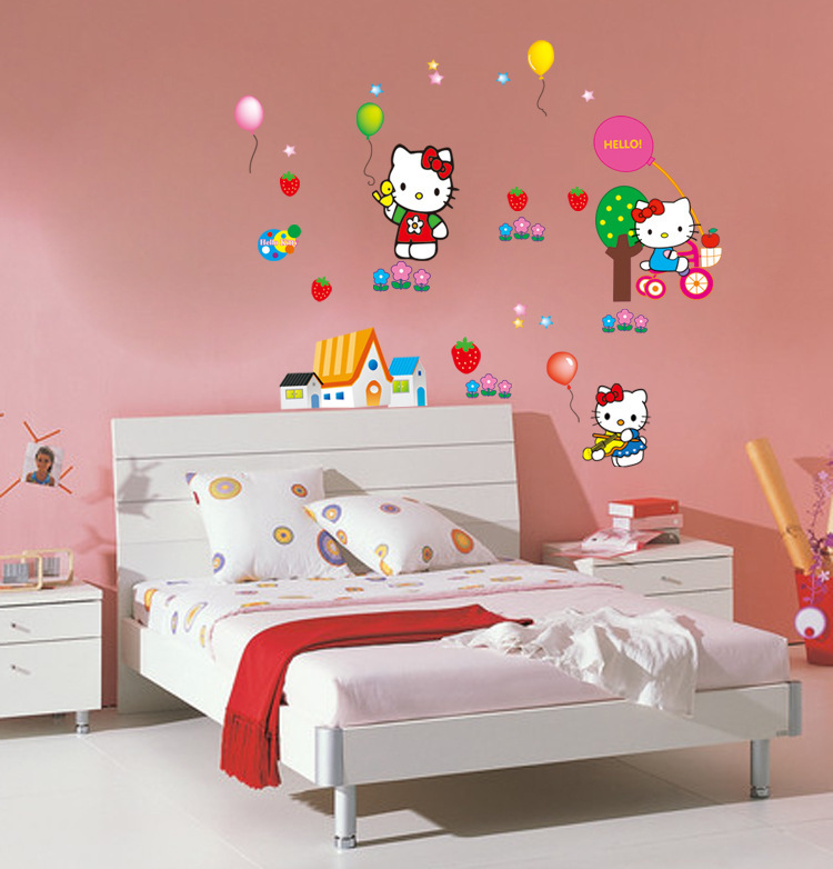 Hello Kitty Decor For New Baby (Image 7 of 10)