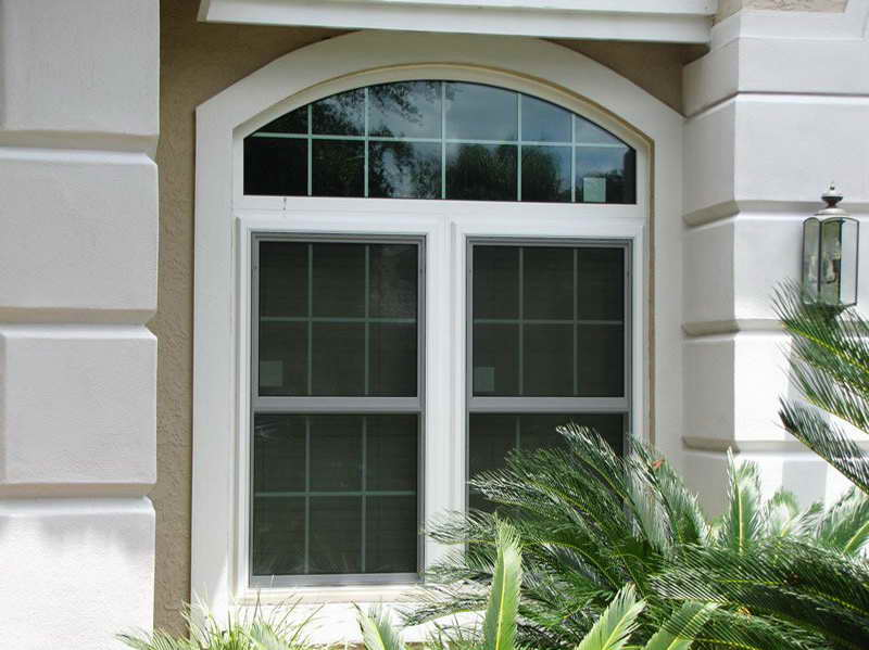 High Quality Material Of The Larson Storm Windows With Plants (Image 5 of 10)