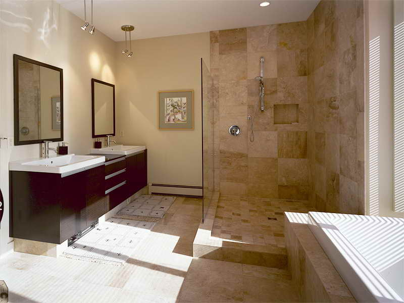 Ideas For Small Bathrooms With Wall Cabinets On A Budget (Image 5 of 10)