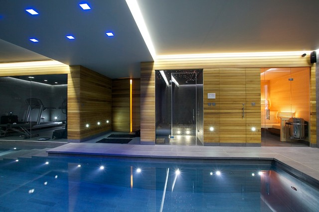 Indoor Luxury Swimming Pool (View 4 of 10)