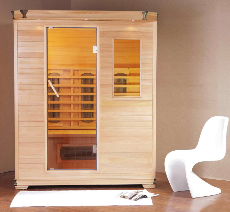 Infrared Sauna Exterior Halogen (Image 7 of 10)
